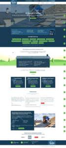 belfast roofing services website design
